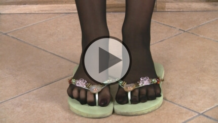 14.10.2015 · Petra · Five Toes Pantyhose