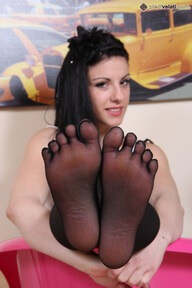 20.11.2016 · Bianca · Five Toes Pantyhose