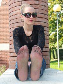 14.07.2013 · Christelle · Nylon Socks