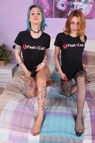 22.03.2020 · Denise, Stella · Pantyhose, Two Or More Girls