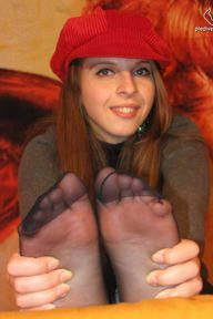 13.11.2011 · Eleonora · Nylon Socks